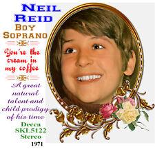 Neil Reid - Boy Soprano - 'You're the Cream in My Coffee'. 1971