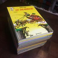 LOT LUCKY LUKE - SERIE  PRESQUE COMPLETE DES 29 TOMES DARGAUD ( MANQUE LE  26)