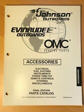 Evinrude Johnson Outboard Motor Accessories Parts Catalog Manual 1997 OMC
