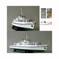 DIY Paper Model Ship Puzzle Game 3D Papercraft Assemble Education Toy Ferry NEW