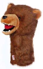 Grizzly Bear Golf Club Head Cover