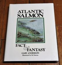 Atlantic Salmon-Fact & Fantasy-Gary Anderson-Signed-Limited-9 4/150-1990-Leather