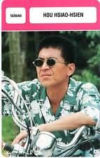 FICHE CINEMA :  HOU HSIAO HSIEN -  Taïwan (Biographie/Filmographie)