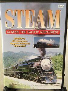 New DVD Railway - Steam Across The Pacific Northwest