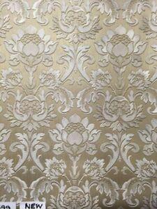 Belgravia Decor Sorrentino Gold Wallpaper GB9811 - Italian Shimmer Damask