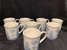 VILLEROY & BOCH  Luxembourg NEW 1748  Coffee Mugs Tea Cups Set Of 8 Cups 8 oz.!!