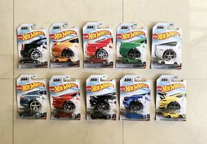 Hot wheels - GTR01 - Complete Set Of 10 - NEW In Package