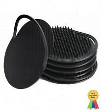 Hand Pocket Comb Brush Hair Men Beard Mustache Palm Travel Scalp Massager