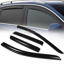 FOR 07-13 FORD EDGE/MKX SMOKE TINT WINDOW VISOR SHADE/VENT WIND/RAIN DEFLECTOR