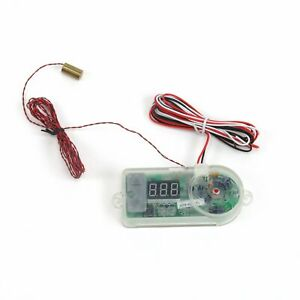 Digital Adjustable Temp Control Switch with Thread In Sensor zirgo ZIRZFSDG2