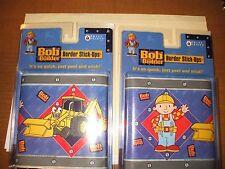 Bob the Builder Wall Border Stick-ups, Peel & Stick NIP, 15 ft, Priss Prints