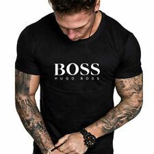 Sommer Herren Hugo Boss1 Short Sleeve T-Shirts sportswear Crew-Neck M-XXL