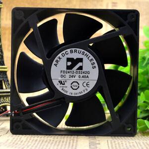 ARX DC BRUSHLESS FD2412-D3242G 12038 24V 0.4A 12CM inverter cooling fan