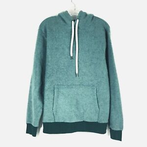 Feat Blanket Blend Womens Pullover Hoodie Medium Shaded Spruce Green