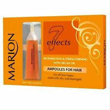 Marion® Intensive Hair Regeneration&Strengh Treatment,Dry&Damaged Ampoules 5x7ml