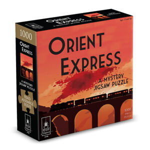 Orient Express Classic Mystery Jigsaw Puzzle 8 x 8
