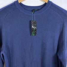 United Colors Of Benetton Men Crew Neck Sweater Sz M Medium Wool Blend