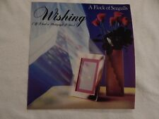 "A FLOCK OF SEAGULLS ""Wishing"" PICTURE SLEEVE! NEW! ONLY NEW COPY ON eBAY!"