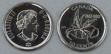 Kanada / Canada 10 Cents 2017 150 Jahre Kanada unz.