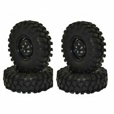 """1:10 RC Rock Crawler 1.9"""" 108mm Tires and Wheels for 1/10 Axial SCX10 RC4WD D90"""