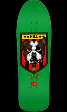 Powell Peralta Frankie Hill Bulldog Skateboard Deck Green - 10 X 31.5 REISSUE