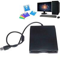 USB Floppy Drive External Portable 1.44 MB FDD Diskette Windows Drive PC X7L9