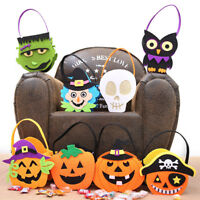 Halloween Cute Witches Candy Bag Packaging Children Party Storage Bag Gift Bag U