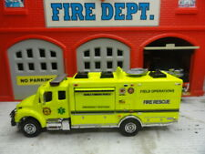 MATCHBOX FIRE RESCUE FREIGHTLINER MOBILE COMMAND FIELD OPERATIONS CUSTOM UNIT