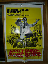 STREET GANGS OF HONG KONG orig 1-sht / movie poster (Shaw Brothers) - 1974