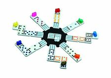 Cardinal Mexican Train Domino Game with Aluminum Case Free Shipping