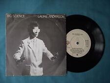 "Laurie Anderson - Big Science. 7"" vinyl single (7v1692)"