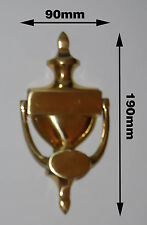 Victoria door Knocker solid brass polish (Ref # 25)
