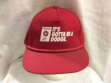 trucker hat baseball cap ITS GOTTA BE A DODGE retro vintage cool rave rare nice