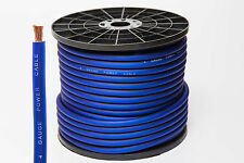 5 METERS 4 AWG GAUGE 25mm² OVERSIZED CCA BLUE POWER CABLE HIGH QUALITY WIRE