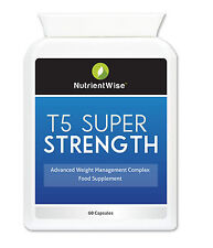 T5 Super Strength | Fat Burners | Food Supplement | 60 Capsules| Diet Supplement
