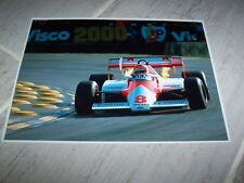 Photo / Photograph  Nicky Lauda McLAREN Ford 1983 GP d'Europe //