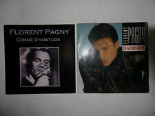 LOT DISQUES 45T SPECIAL FLORENT PAGNY