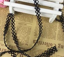 5 Yd (environ 4.57 m) Bordure en Dentelle Noire Bracelet Collier Accessoires Robe de mariée à Coudre Craft