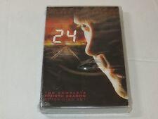 24 The Complete Fourth Season Seven Disc Set Keifer Sutherland DVD set NEW