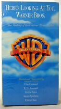 """Here's Looking at You"" Documentary of the History of Warner Bros. VHS 1993 New"