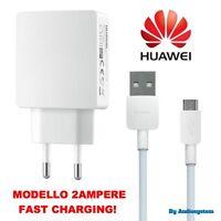 CARICA BATTERIA ORIGINALE HUAWEI 2A PER MATE S 7 8 CAVO USB FAST CHARGING RAPIDO