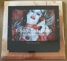 Bad Religion! No Substance! Punk Rock Vinyl Lp! Mint! Factory Sealed