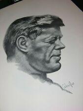 JFK John F Kennedy Ceballos 25 X 19 Print