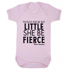 Though She Be But Little Babygrow