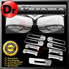 13-15 RAM Chrome Mirror w/Light hole+4 Door Handle+Tailgate no KH no CM Cover
