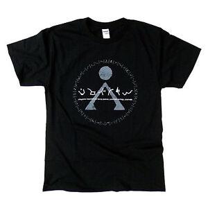 STARGATE Origin / Earth Symbol - Distressed Design Tee - T Shirt for Film fans