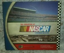 THE EVOLUTION OF NASCAR ~ A GREAT HISTORICAL COLLECTION BOOK W/ EXTRAS INSIDE