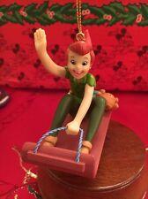 Peter Pan Disney Grolier Christmas Magic Ornament In Box