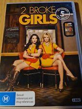 2 Broke Girls - Season 5 DVD! 2016 SERIS FIVE. REGION 4 IMPORT