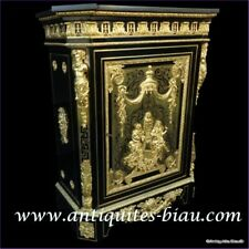 Cabinet Louis XIV stamped Béfort in Boulle marquetry 19th  Napoleon III  period